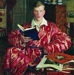 Portrait of K.B. Kustodiev