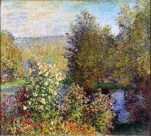 A Corner of the Garden at Montgeron