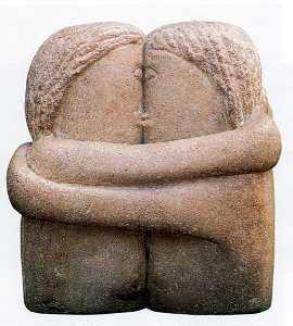 The Kiss - Constantin Brancusi