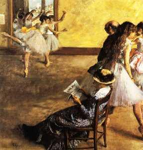 Ballet Class, the Dance Hall