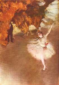 The Star (Dancer on Stage)