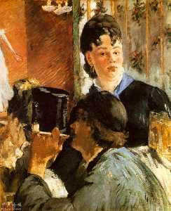 The waitress Bocks