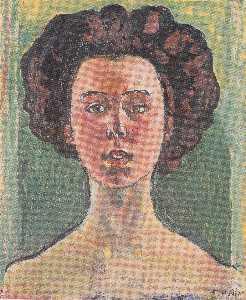 Portrait of Gertrud Mueller