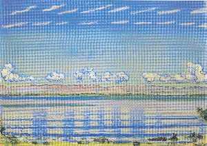 Rhythmic landscape on Lake Geneva