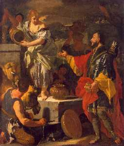 Rebecca and the Servant of Abraham