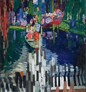 Piano Keys Lake