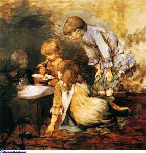 Wikioo.org - The Encyclopedia of Fine Arts - Artist, Painter  Georgios Jakobides