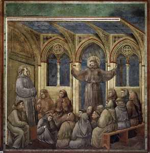 L Apparizione al Capitolo House at Arles
