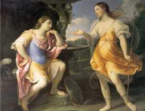 Encounter of Bradamante and Fiordispina