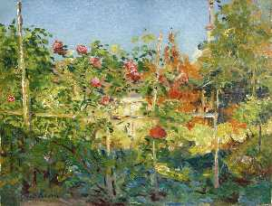 Garten in Trouville