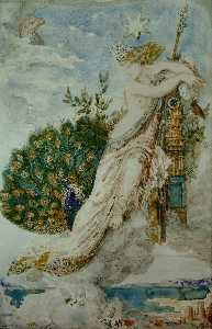 The Peacock complaining to Juno