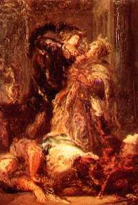 Prince Hamlet kill King Claudius