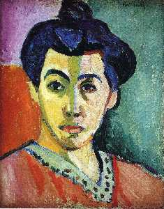 Portrait of Madame Matisse (Green Stripe)