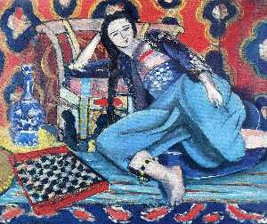 Odalisque with a Turkish Chair