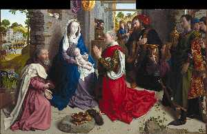 The Adoration of the Kings (Monforte Altar)