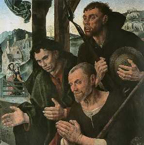 Portinari Triptych (detail)