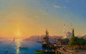 View of Constantinople and the Bosporus