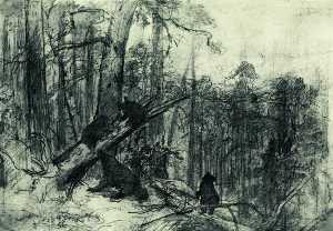 Wikioo.org - The Encyclopedia of Fine Arts - Artist, Painter  Ivan Ivanovich Shishkin