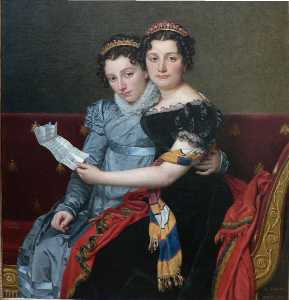 The Sisters Zenaide and Charlotte-Bonaparte