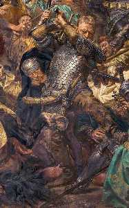 Battle of Grunwald, Jan Zizka(detail)
