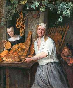 Baker Oostwaert and his wife
