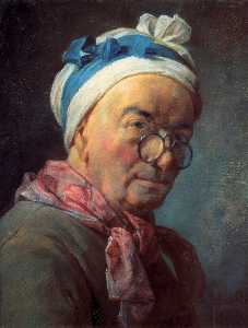 Self-Portraitwith Spectacles