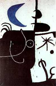 Woman before the luna