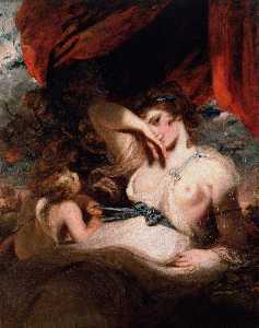 Cupid Unfastening the Girdle of Venus