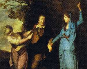 Garrick Between Tragedy and Comedy