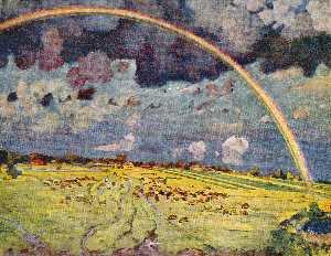 Rainbow. Ligachevo