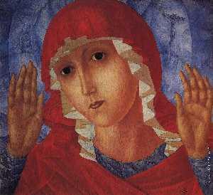 Virgin of Tenderness evil hearts