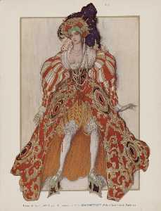 La legende de Joseph Potiphar's wife - Leon Bakst