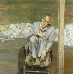 Red Haired Man on a Chair
