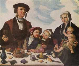 Pieter Jan Foppeszoon and his Family