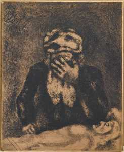 Abraham Weeping for Sarah (Genesis, XIII, 1)