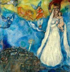 Madonna of village