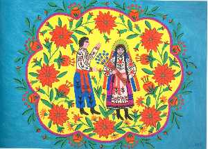 Flax Blooms and a Cossack Goes to a Girl