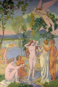Panel 1. Eros is Struck by Psyche's Beauty