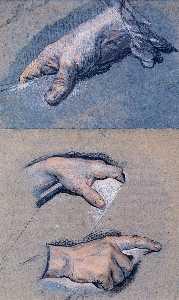 Studies of men's hands