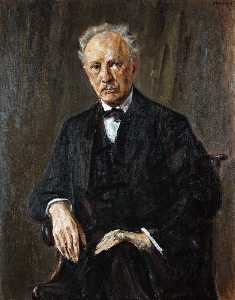 Portrait of Richard Strauss