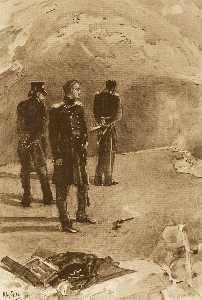 Duel of Pechorin and Grushnitsky