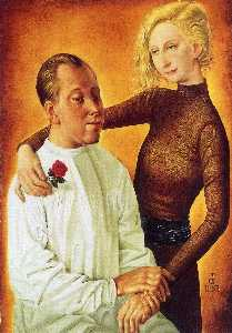 Portrait of the Painter Hans Theo Richter and his wife Gisela