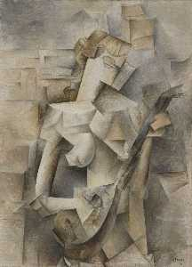 Girl with mandolin (Fanny Tellier)