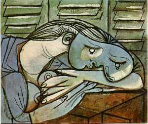 Sleeper near the shutters