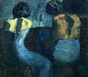 Two women sitting at a bar