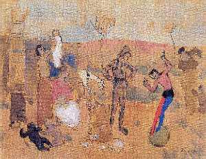 Family of jugglers