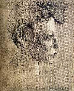 Woman's profile