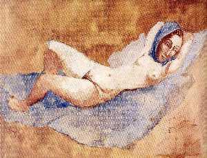 Reclining Nude (Fernande)