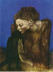 Woman with raven