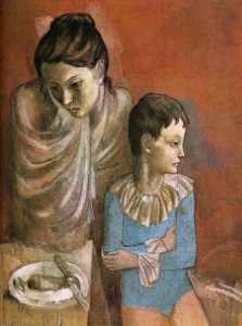 Mother and child (Baladins)